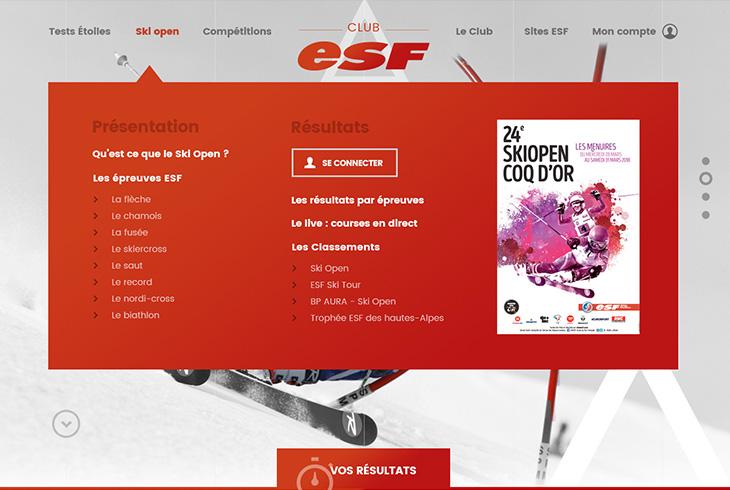Club ESF & agence digitale Stargraf