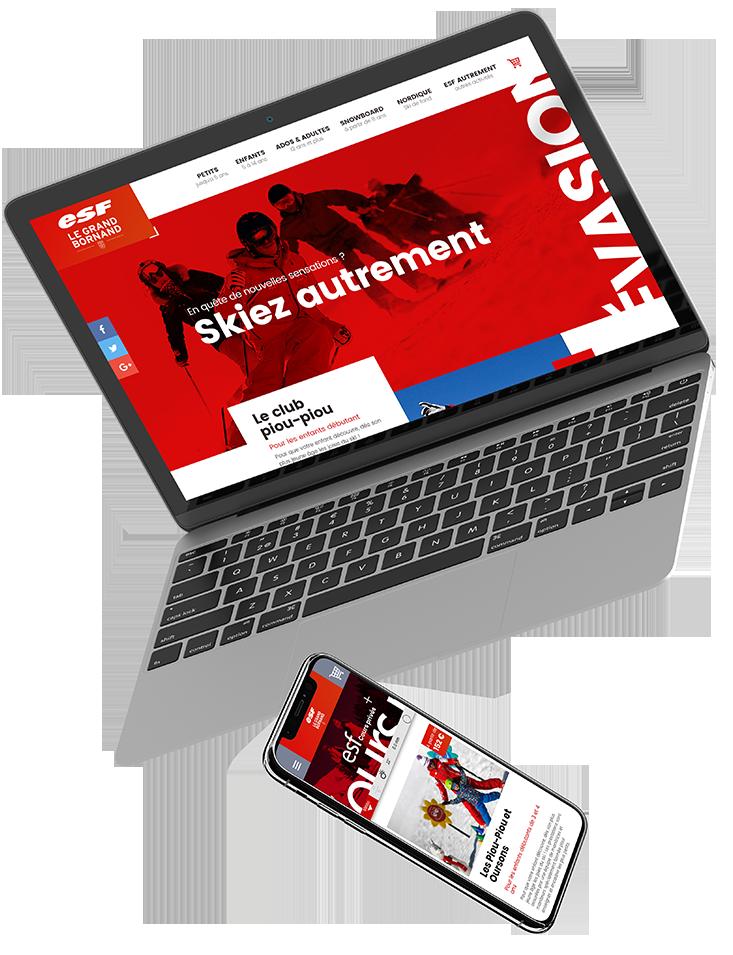 Agence Web Stargraf & Webdesign ESF