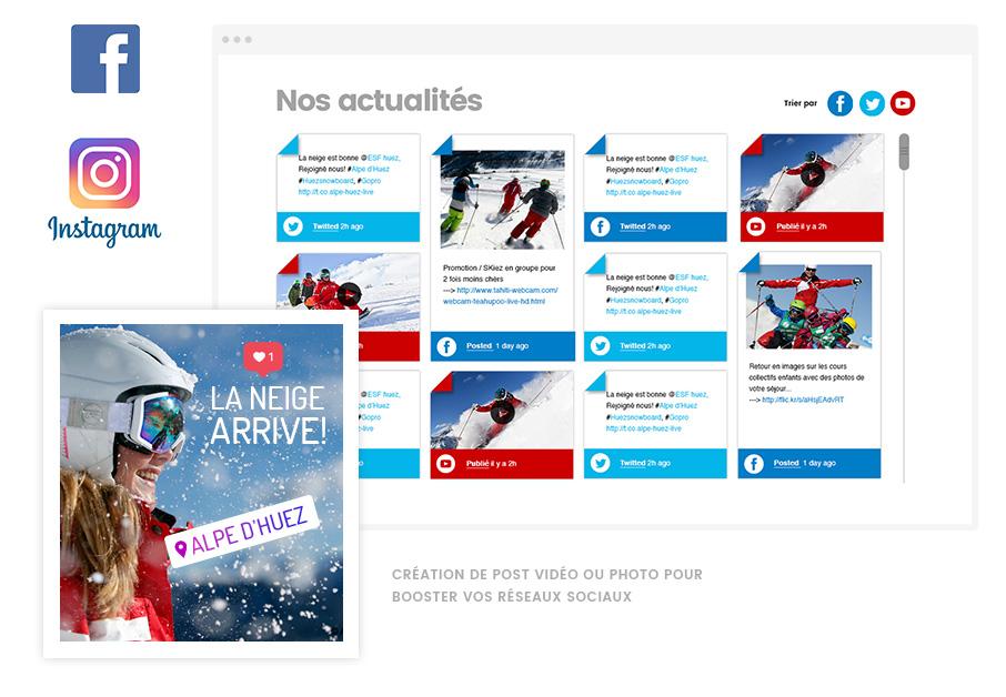 Agence web Lyon Stargraf & réseaux sociaux ESF